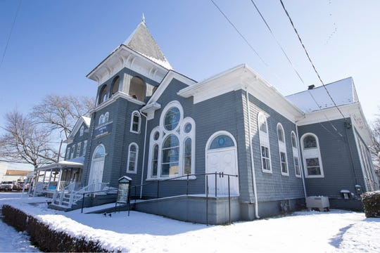 Pastor Marisol Ferrer-Malloy and her husband Paul Malloy run the Community Mission Center in Long Branch. It was formerly the First Reformed Church of Long Branch and is rich in history. The church, which serves as a Code Blue Warming Center for the homeless, is being shut down    Long Branch, NJTuesday, December 3, 2019