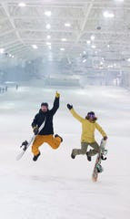 Indoor snowboarding and skiing is the focus of Big SNOW American Dream.