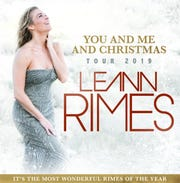 Country star LeAnn Rimes will be spreading holiday cheer on tour.