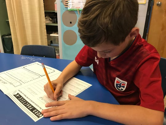 """In 2013, North Carolina passed the """"Back to Basics"""" act, mandating schools prepare students to write legible cursive by the end of fifth grade."""