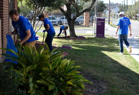 Texas A&M-Corpus Christi hosts its sixth annual Giving Tuesday, Tuesday, Dec. 3, 2019, in various locations across the city. The event is where people volunteer at nonprofits in the community.
