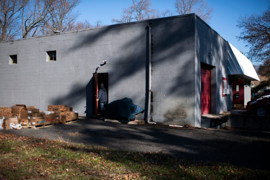 The new site of Cherry Hill's food pantry Tuesday, Dec. 3, 2019. Funding is still needed for reconstruction inside the building.