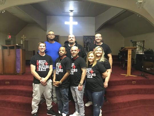 The members of Zion Baptist's SWAG Ministries have found comfort in helping others.
