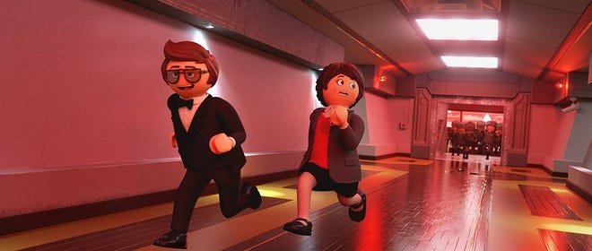 "Daniel Radcliffe and Anya Taylor-Joy provides the voices of Rex Dasher and Marla in ""Playmobil: The Movie."""