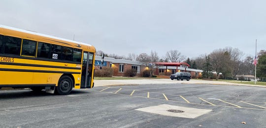 Agnes E. Beer MIddle School closed Tuesday Dec. 3, 2019, due to a shooting threat as a school bus waits to take students home