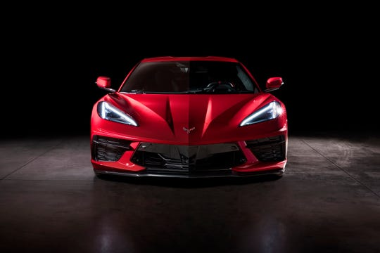 Chevrolet's mid-engine 2020 Corvette Stingray debuted in July.