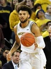 Isaiah Livers is Michigan's leading scorer at 17.0 points per game.