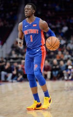 Pistons point guard Reggie Jackson has played in just two games this season.