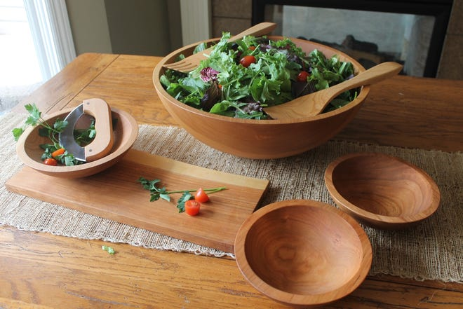 Wooden bowls from the Holland Bowl Mill, one of only a few commercial producers left in the U.S.