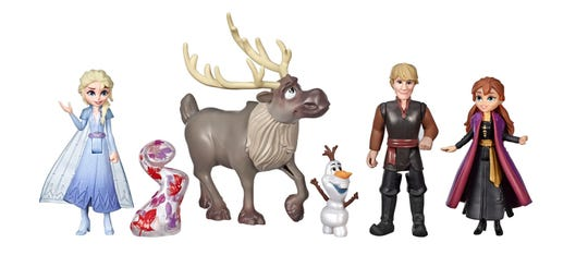 More toys from 'Frozen.'