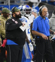 """If I was going to let that stuff bother me, I would out of this like 40 years ago,"" says Lions defensive coordinator Paul Pasqualoni about his job security."
