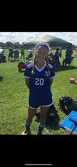During the past two years Ryleigh Acosta, a product of the Cape Coral Soccer Association Cyclones program,  has been part of the Florida Olympic Development team.
