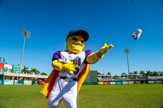 """The Fort Myers Miracle made a major announcement Tuesday at Hammond Stadium. They will now be named the """"Fort Myers Mighty Mussels."""" Officials from the city and county were on hand as well as former players for the announcement on Tuesday, Dec. 3, 2019."""