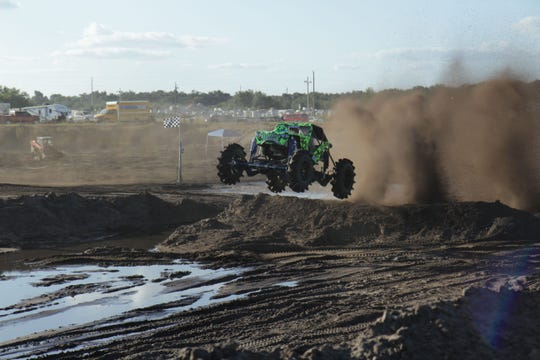 """Chris Libak's Animalistic thrashes the new track on """"Dirty Mudder Truckers"""""""