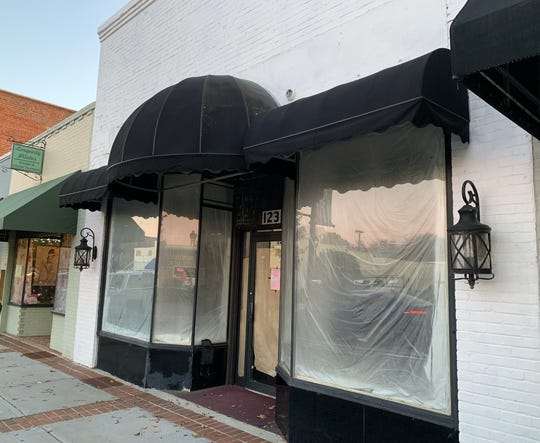 This storefront at 123 N. Main St. in downtown Fountain Inn will soon be home to Tacos & Bla Bla Bla.