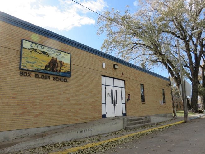 Box Elder School serves students from kindergarten through 12th grade and is located just steps from the Rocky Boy's reservation.