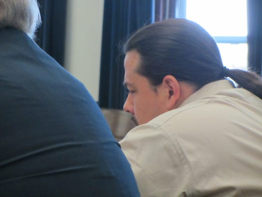 Richard Lawrence Morsette Jr. awaits the verdict during his 2-day trial for the 2018 riot at the Cascade County Detention Center.