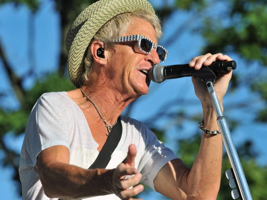 Kevin Cronin, pictured during a 2012 appearance at the Indiana State Fair, will perform with REO Speedwagon May 22 at Indianapolis Motor Speedway.