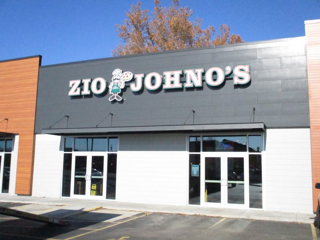 Zio Johno's on Tuesday, Dec. 3 in its new location along Highway 1 in Iowa City.