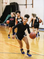 """If we sit down and watched the game, there's so many things that we could have done better,"""" Kynidi said on the win over Jeffersonville. """"Don't get set on it. Yes, it's good to be hype, yay, hooray, but there's still way too much basketball to settle and get comfortable with how you're playing."""""""