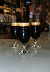 Three imperial stouts at Gravely Brewing