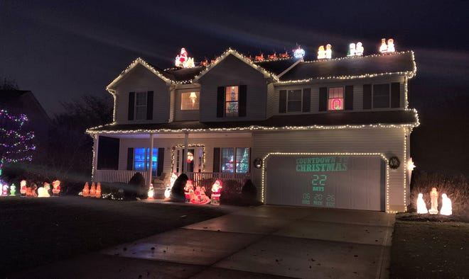 A Christmas House is located at 928 Greenlea Drive in Marion. The annual holiday display will remain in place through New Year's Eve. The house is lit up from dusk until 10 p.m. Sunday through Thursday, and until 11 p.m. on Friday and Saturday. Follow A Christmas House on Facebook.