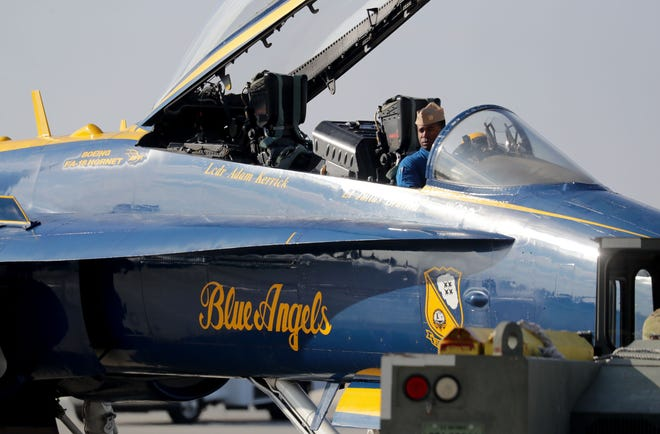 Due to the coronavirus pandemic, organizers Friday announced cancellation of the 2020 Milwaukee Air & Water Show, which would have featured the U.S. Navy Blue Angels team.