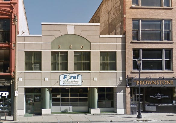 A two-story building at 530 N. Water St. has been sold to a technology business entrepreneur.