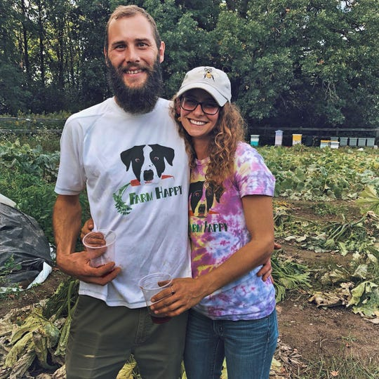 John McConville and Jennifer Gordon met at a hydroponics store.