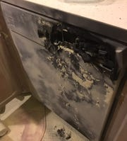 A Bosch dishwasher was destroyed in a house fire in Brookfield in February 2019.