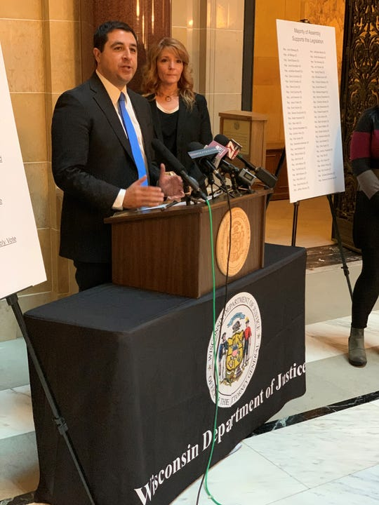 Attorney General Josh Kaul urges Republican Rep. Joe Sanfelippo to hold a hearing on a bill that would streamline the process to analyze evidence from sexual assaults.