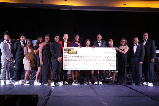 Grambling State University has completed one of the largest fundraising campaigns in the institution's history with $6,655,435 raised over the course of three years.