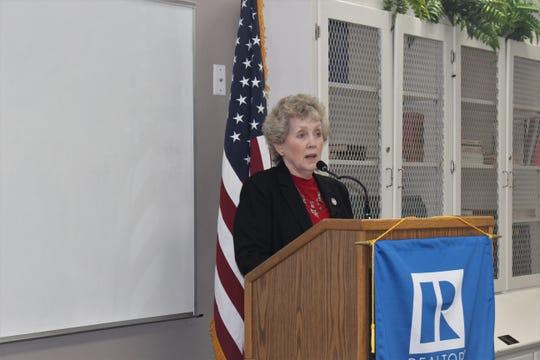 Gretchen Ezernack represents District 2 on the Monroe City Council.