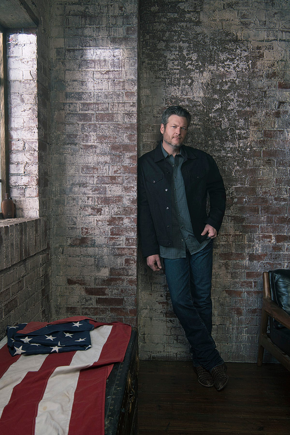 Blake Shelton:  If you take God out of it, it doesn t make sense  as he comes to Valley
