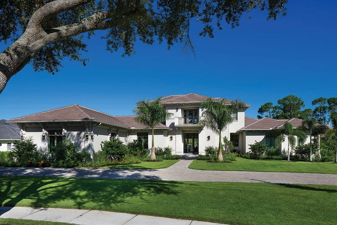 The Casa Bordolino is one of five furnished models available immediately at Quail West.