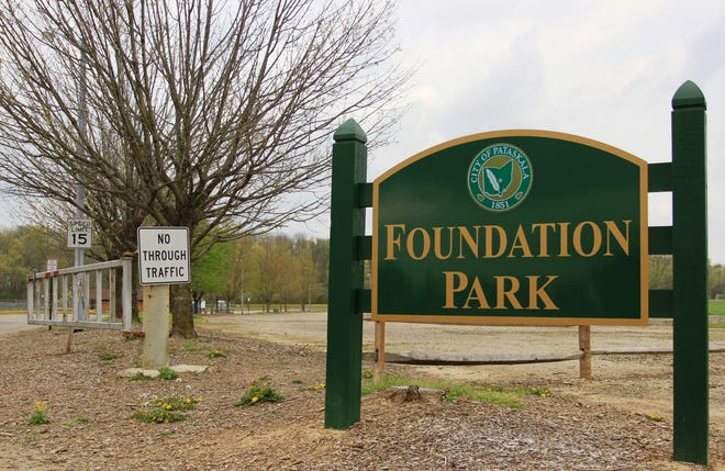 Pataskala's Foundation Park was one of several municipal parks to recently suffer significant vandalism, officials say.