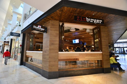A 2015 photo of Zinburger in the Garden State Plaza mall.