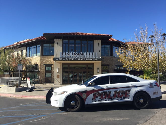New Mexico State Police responded to the scene of a threat to shoot that was received at Barnes and Noble bookstore via telephone on Tuesday, Dec. 3, 2019.