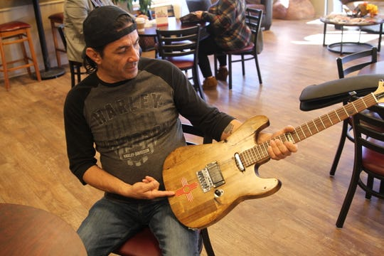 Alamogordo musician and wood worker Steve Guilez describes how he made his first guitar.
