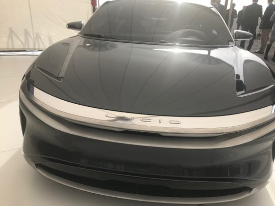 The Lucid Air will carry a price tag of more than $100,000.