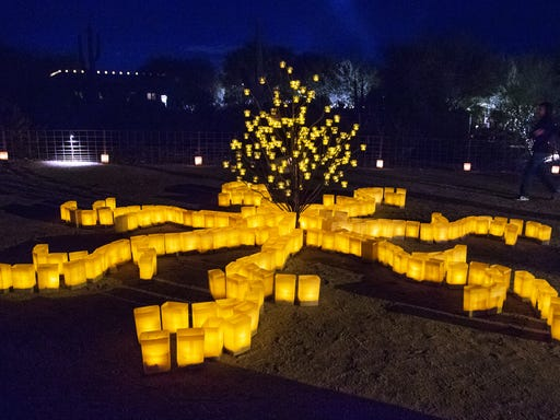 Phoenix Desert Botanical Garden Luminarias 2020 Tickets On Sale Now