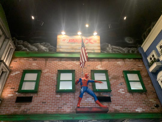 ComicX, a new comic themed restaurant, bar and shop opens at Desert Ridge Marketplace on Wednesday, Dec. 4. The restaurant features more than 25 full size figures of comic characters.