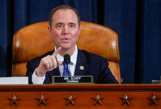 Representante Adam Schiff (D-CA), presidente del Comité de Inteligencia de la Cámara Baja.