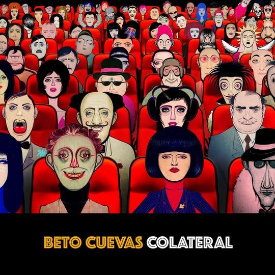 Portada de Colateral, nuevo álbum de Beto Cuevas.