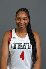 Lebanon Catholic grad Alexis Hill is leading the Northeastern women's basketball team in scoring,