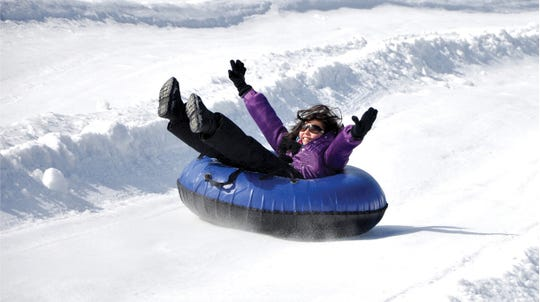 Rocking Horse Ranch Resort in Highland offers a Winter Fun Park for guests.