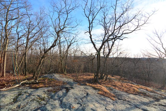 A nice walk but with limited views on Danbury's Bear Mountain.