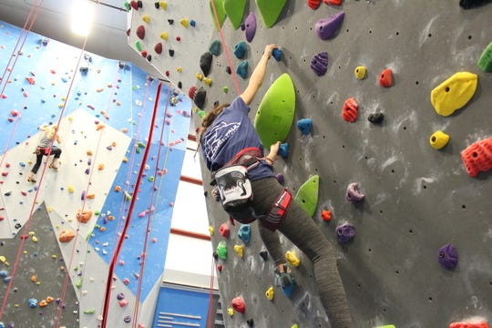 Gravity Vault in Poughkeepsie offers holiday day passes for climbers of all levels.