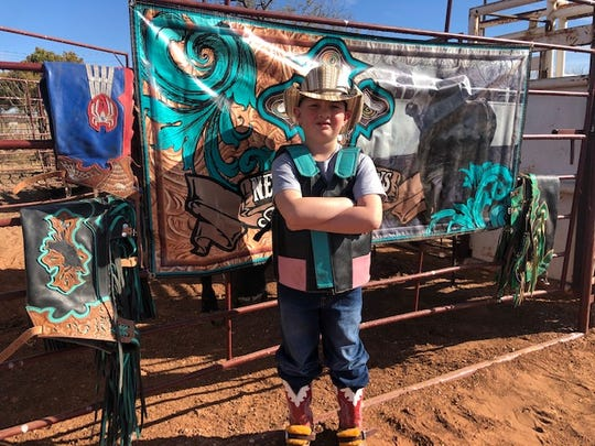 A.J. Lowery, 6,qualified for the IMBA World Finals in the Pee Wee category.