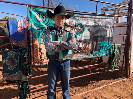 Austin Matheny, 11, qualified for the IMBA World Finals in the Jr. Mini Bulls category.